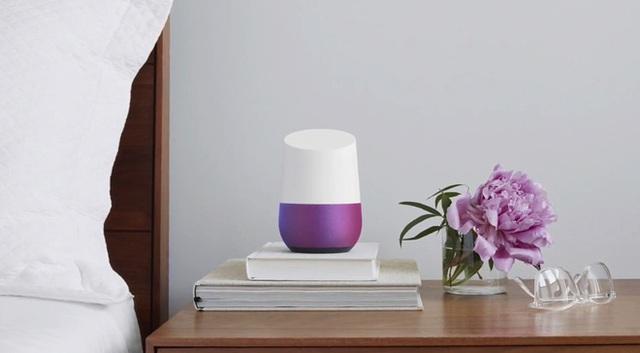 Loa thông minh điều khiển bằng giọng nói Google Home.