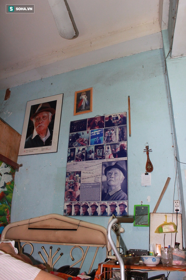 Một phần bên trong nơi sống của nhạc sĩ Nguyễn Văn Tý.
