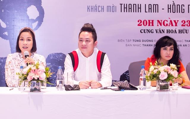 Mỹ Linh và Thanh Lam đều dành nhiều lời ca ngợi cho giọng hát của Tùng Dương.
