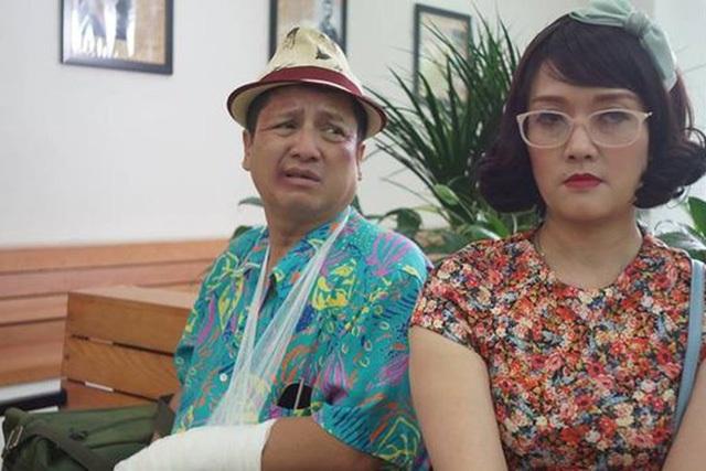 Vân Dung và Chí Trung trong phim.