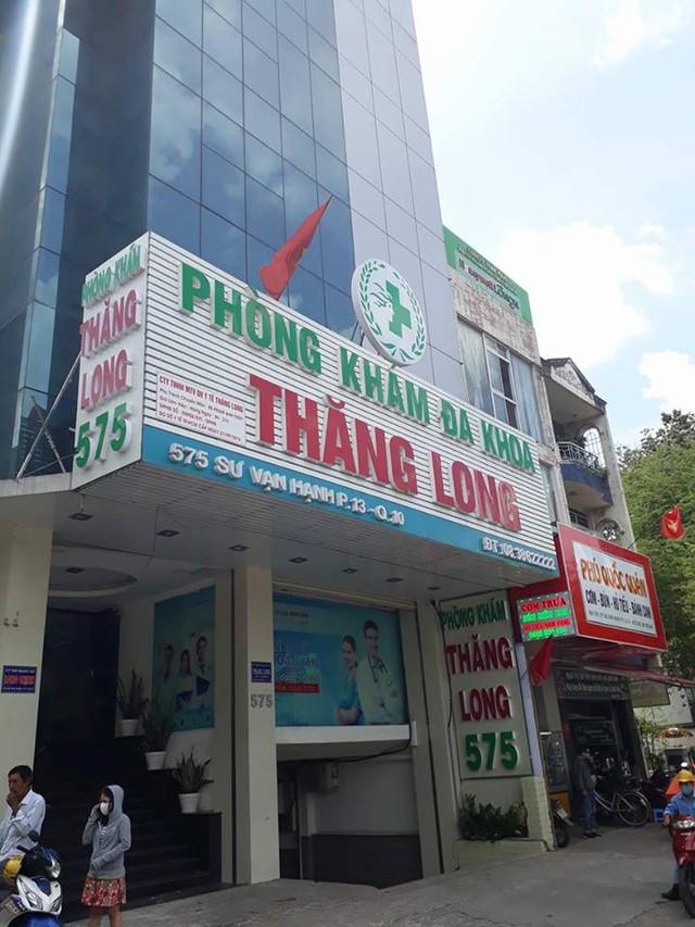 Phòng Khám Thăng Long lại bị xử phạt