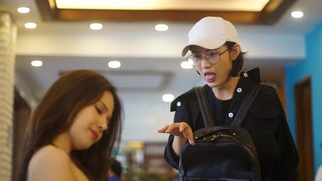 Tạo hình nhân vật Phương Anh do Trang Cherry đảm nhận trong Ghét thì yêu thôi.