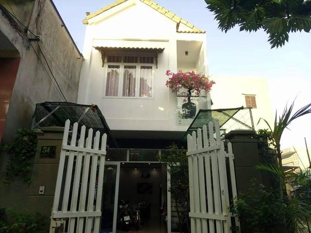 Ngôi nhà nhỏ ở thành phố Đà Nẵng của chị Thanh.