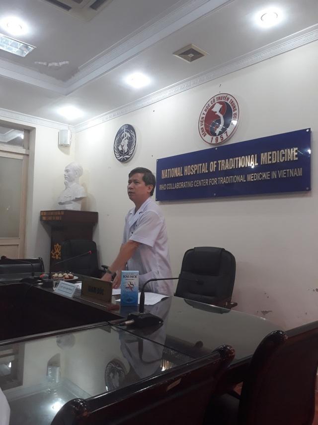PGS.TS Vũ Nam – Giám đốc bệnh viện, Chủ tịch Hội đồng phát biểu