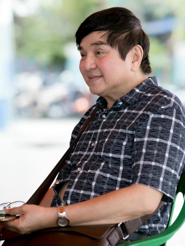 Nghệ sĩ cải lương Chí Tâm ở lứa U60.