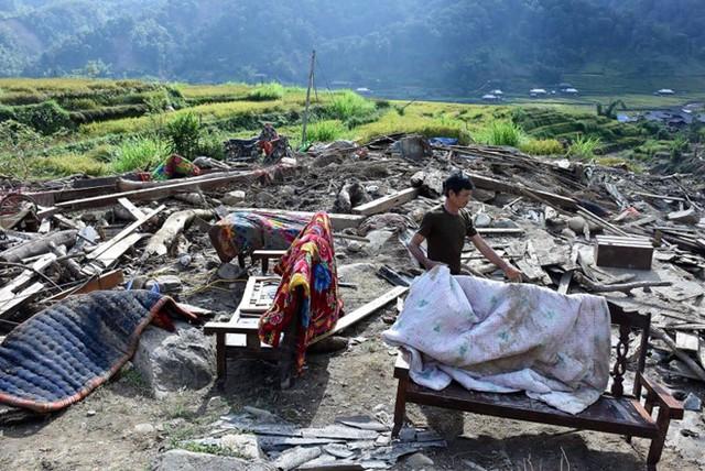 Trận lũ kinh hoàng đã cuốn trôi 78 ngôi nhà tại Yên Bái.