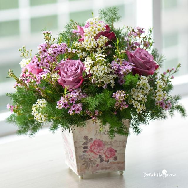 Kết quả hình ảnh cho 30 hình ảnh bó hoa hồng đẹp cho ngày 20/10