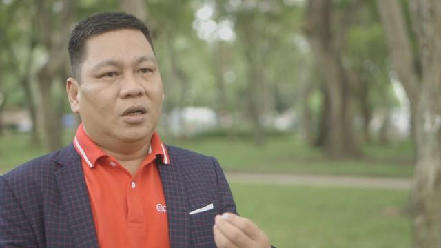 Ông Nguyễn Ngọc Hiển, Giám đốc Dự án Kênh Giáo dục trực tuyến Edutalk