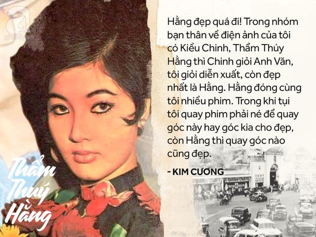 Chính kỳ nữ Kim Cương trong một lần trò chuyện với báo giới cũng khẳng định về vẻ đẹp khó ai sánh được này.