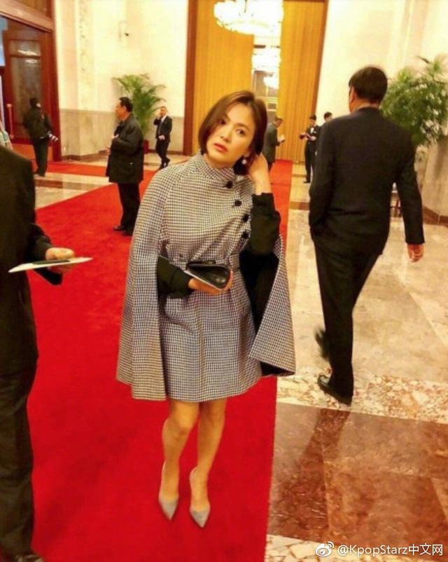 Bà xã Song Joong Ki ngày càng đẹp mặn mà