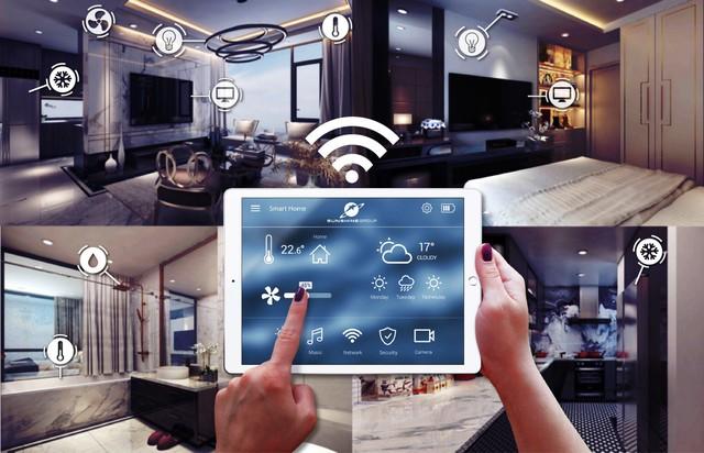 Ứng dụng Sunshine Home cho phép điều khiển toàn bộ các thiết bị điện thông minh trong căn hộ tại các dự án thuộc phân khúc cao cấp của Sunshine Group như: hệ thống chiếu sáng, điều hoà, bình nóng lạnh, rèm cửa tự động…
