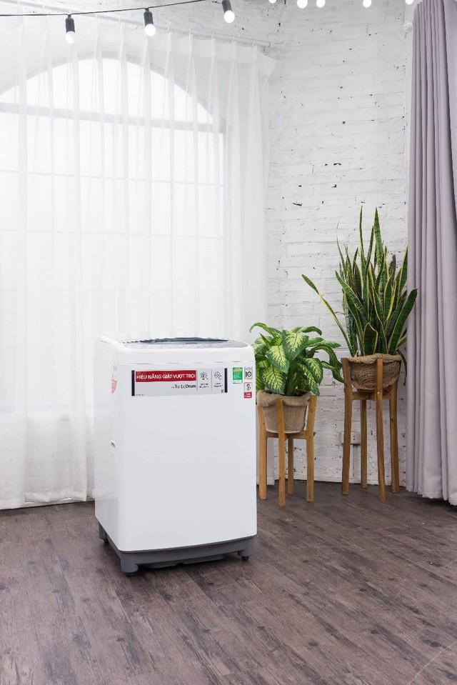 Máy giặt LG Smart Inverter tiết kiệm tới 36% điện năng tiêu thụ