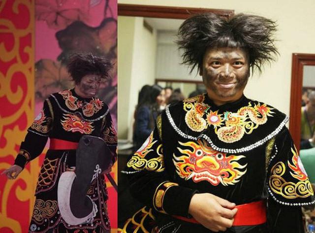 Nhạc sĩ, ca sĩ, diễn viên Tiến Minh trong tạo hình vai Thiên Lôi.