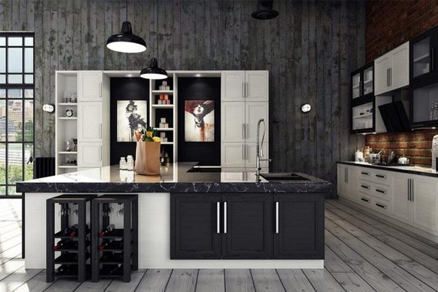 11. Trong phong cách công nghiệp, sàn nhà thường được lát gỗ hoặc làm bằng bê tông.