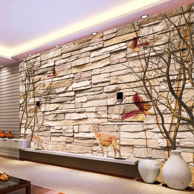 Xốp dán tường mang vẻ đẹp nghệ thuật cho không gian.