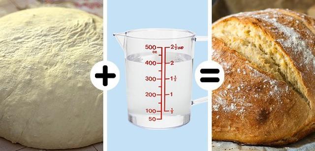 Khi tự nướng bánh ở nhà, bạn có thể gặp vấn đề với lớp vỏ bánh không như ý. Vấn đề này có thể giải quyết dễ dàng bằng cách đặt một bát nước vào lò khi nướng. Hơi nước sẽ phù phép cho lớp vỏ bánh giòn ngon.