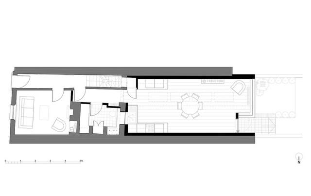 Bản vẽ thiết kế của ngôi nhà đặc biệt này.