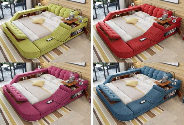 Giường Tatami rất đa dạng về màu sắc, chất liệu.