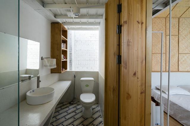 Phòng tắm đẹp hiện đại, tiện ích.