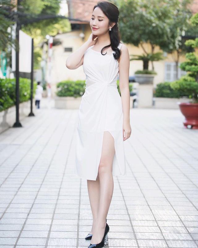 Vì có ngoại hình xinh đẹp nên Xuân Thảo cũng từng xuất hiện tại nhiều cuộc thi nhan sắc.