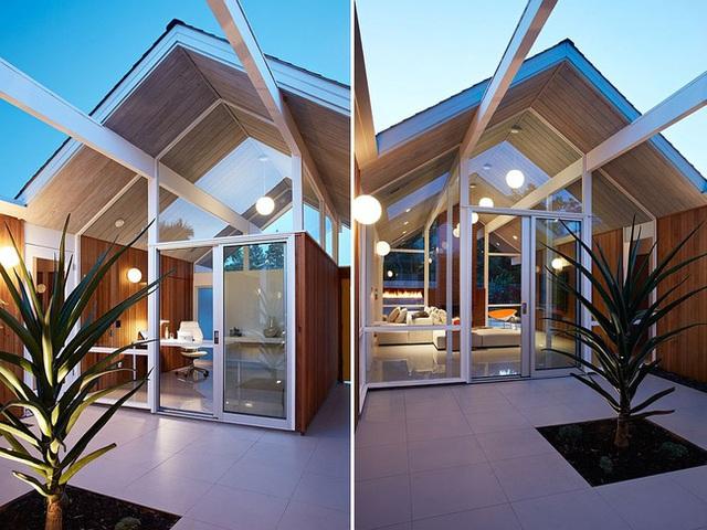 Gỗ được sử dụng hoàn toàn thông minh cho thiết kế nhà này. Và chắc chắn bạn sẽ ngạc nhiên về hiệu quả của chất liệu này khi ứng dụng nó vào ngôi nhà của mình đấy.