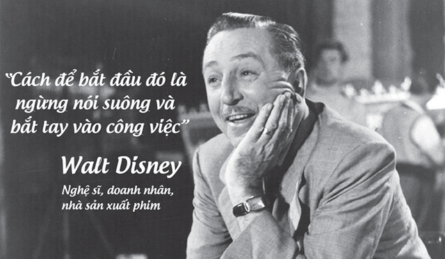 Nghệ sĩ, doanh nhân, nhà sản xuất phim tài năng Walt Disney.