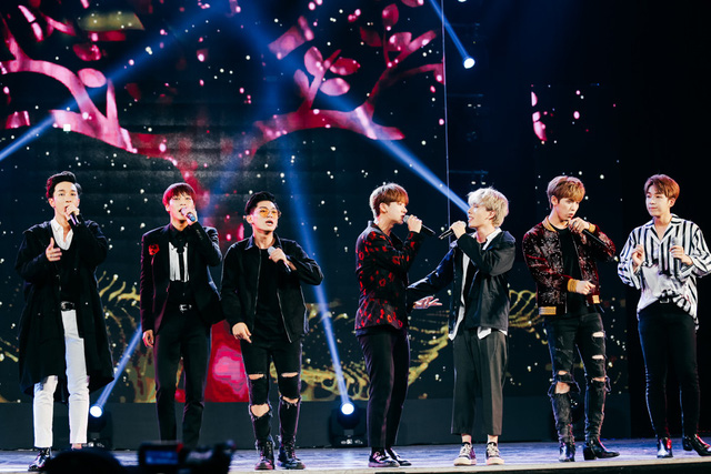 Monstar sau đó còn kết hợp cùng nhóm nhạc Hàn Quốc SNUPER trong ca khúc Love Rain.