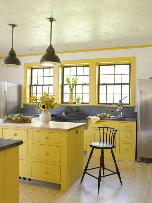 14. Bạn có thể biến tấu nó với màu vàng chanh nổi bật giống như thiết kế này.