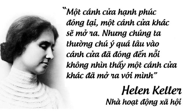 Nhà hoạt động xã hội Helen Keller