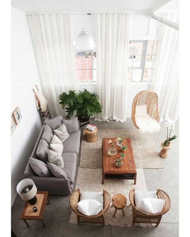 Ánh sáng tự nhiên từ bên ngoài sẽ giúp căn hộ của bạn bỗng trở nên thoáng hơn hẳn