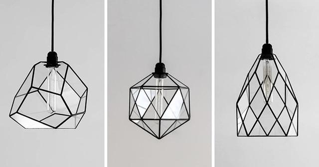 Đây là những mẫu đèn rất thích hợp cho những không gian sống hiện đại với phong cách tối giản.