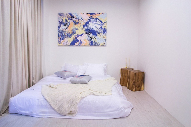 Một điểm tiện ích nữa của phong cách phòng ngủ này là bạn có thể thu dọn chúng một cách nhanh chóng.