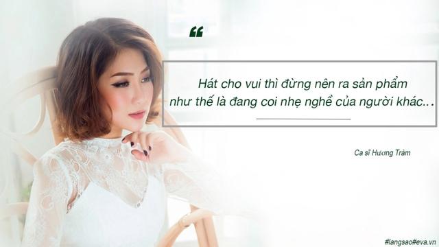 Rất nhiều người hâm mộ của cả hai ngôi sao đã vào bình luận dưới đoạn trạng thái khá sốc của Hương Tràm. Sau đó, Quán quân The Voice 2012 đã im lặng xóa dòng trạng thái trên.