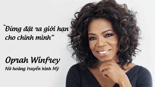 Nữ hoàng truyền hình Mỹ Oprah Winfrey