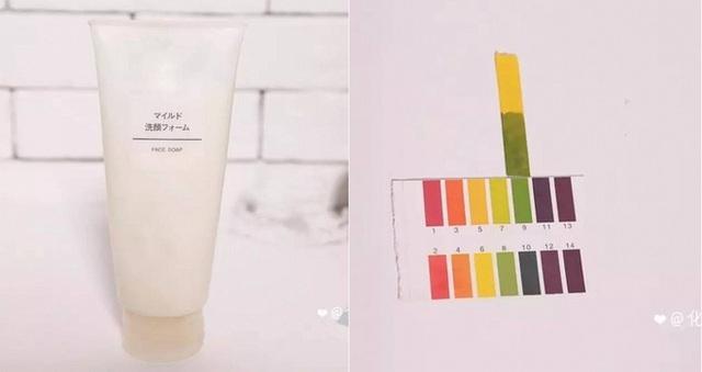 MUJI Face Soap (140.000VNĐ/100ml) độ pH 8. Đến từ thương hiệu bình dân đang nổi của Nhật Bản, nhưng đây cũng là loại sữa rửa mặt có độ pH cao mà bạn nên tránh sử dụng.