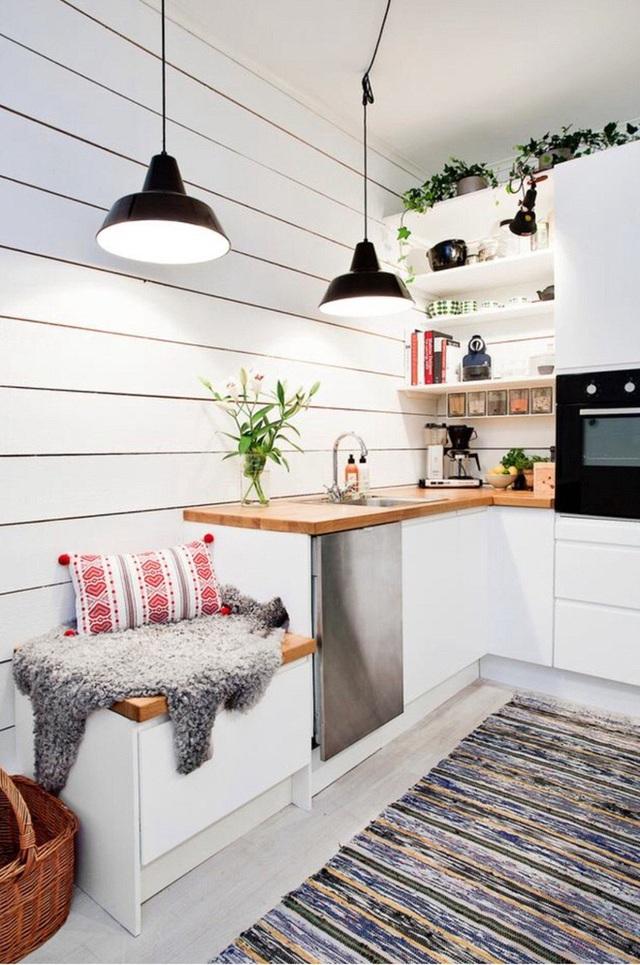 Và đây, chúng ta gọi đó là đỉnh cao của sự tận dụng không gian nhà bếp.