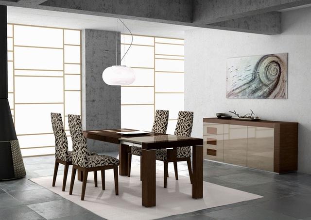 Đây là một ví dụ khác về cách trải thảm đơn giản nhất có thể ảnh hưởng mạnh mẽ đến toàn bộ căn phòng. Khi đồ nội thất được sử dụng toát lên vẻ đẹp hiện đại mạnh mẽ, rõ nét, hãy sử dụng một tấm thảm giúp không gian ấy thêm phần tỏa sáng.