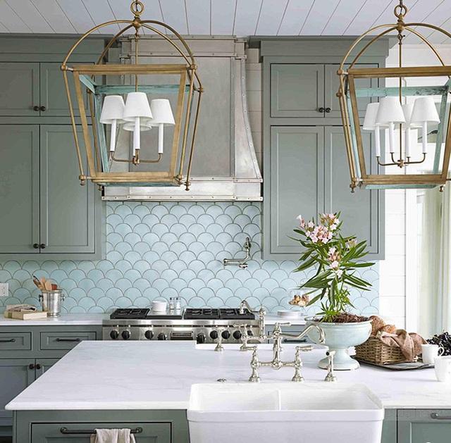 Nếu bạn thích màu sáng hơn, hãy thử cân nhắc màu xanh dương hay màu ngọc lam theo sắc thái pastel.