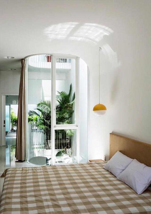 Phòng ngủ đơn giản, hiện đại.