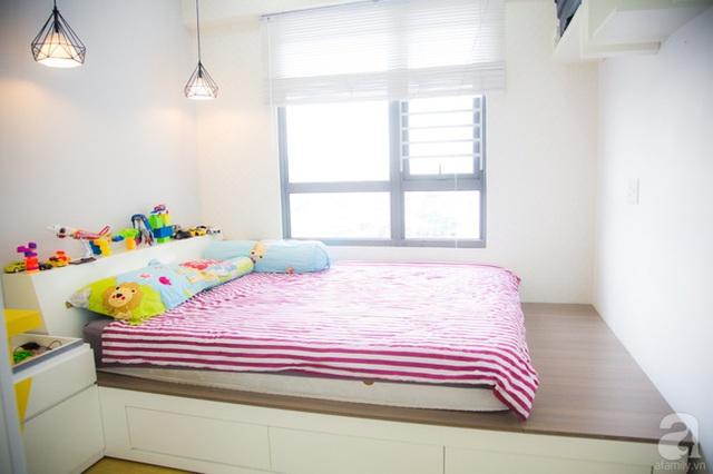 Nơi nghỉ ngơi của con được thiết kế đơn giản nhưng vô cùng bắt mắt. (Ảnh Huy Nguyễn)