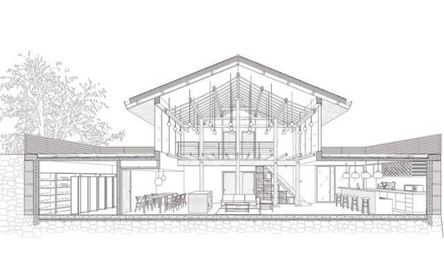 Bản vẽ ngôi nhà