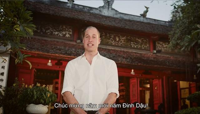 Nhiều người không ngăn nổi xúc động khi được nghe hoàng tử Anh nói câu này bằng tiếng Việt.