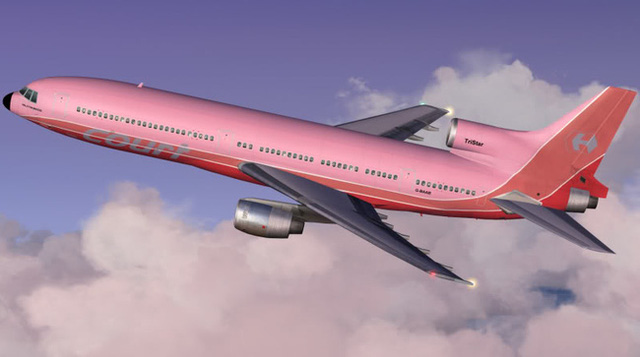 Vẫn có những chiếc máy bay sơn nhiều màu.