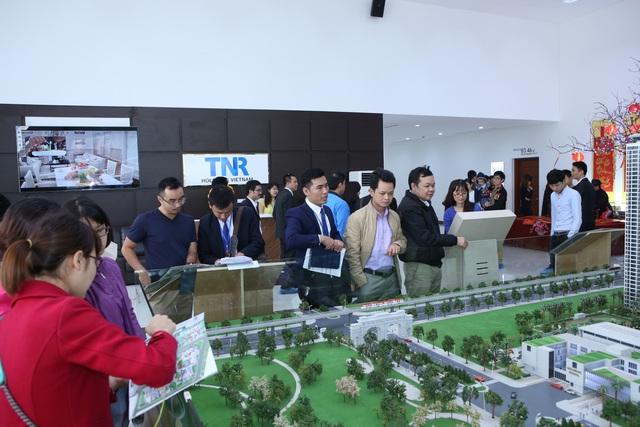 Đông đảo khách hàng quan tâm tới Goldmark City (136 Hồ Tùng Mậu, Q.Bắc Từ Liêm, Hà Nội) – dự án có tỷ suất lợi nhuận lên đến 12%/năm.