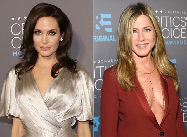 Angelina Jolie từng bị cho là đã giật chồng của Jennifer Aniston