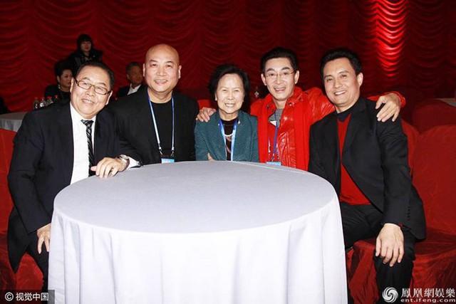 Dương Khiết trong lần hội ngộ dàn diễn viên năm xưa.