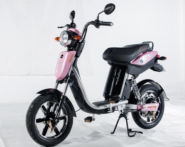 Khi người viết đưa ảnh một số mẫu xe đạp điện cho học sinh lựa chọn kiểu dáng, em Vũ Bảo Trân, học sinh lớp 7 trường Chu Văn An, Hà Nội đã chọn xe Bat-X của thương hiệu Anbico.