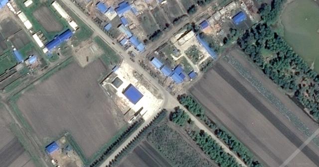 Bản đồ khu vực gia đình anh He và chị Xu sinh sống.