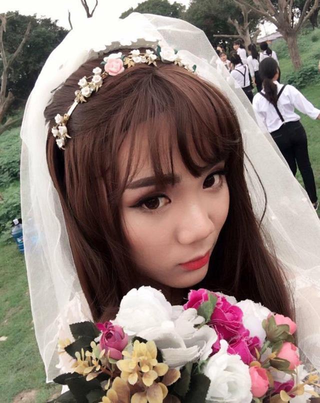Góc ảnh khác của cô dâu Dương Minh Huy