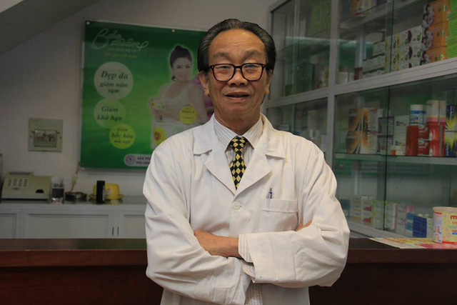 GS.TS.BS. Thầy thuốc nhân dân Nguyễn Đức Vy, nguyên Giám đốc Bệnh viện phụ sản Trung Ương.
